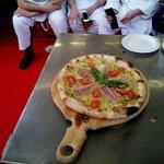 Pizza Gran Galà (3° classificata al 1° Galà della Pizza, Gusto, Qualità, Fiera di Montichiari)