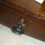 broken handle on furniture