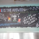 Our quote board