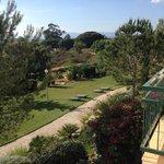 View from villa 22 balcony