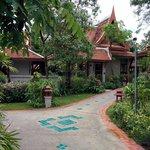 Garten mit Villas