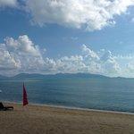 Strand mit Ausblick auf Koh Phangan