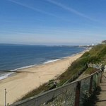A short distance to this seafront walk