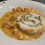 Chicken breast with curry (non-spicy)
