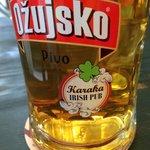 Beer at Irish bar Dubrovnik