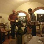 Il Concerto Jazz a Borgo Buio Officina Del Gusto, con Atreio (Stick) e Farnacesco Diodato (Sax)