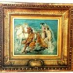 Ingres:Venere,ferita da Diomede,torna sull'Olimpo