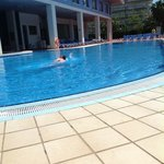 pool is lovely