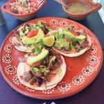 Beef tacos - excellent!