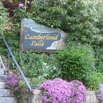 Sign for At Cumberland Falls Bed and Breakfast Inn