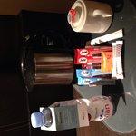 Tea and coffee