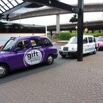 Cartoon taxis