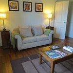 living area deluxe suite