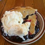 Beckie's Boysenberry Pie ala mode, Union Creek Resort, OR