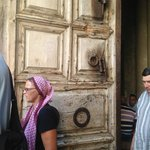 Doors entering The Church of the Holy Sepulchre