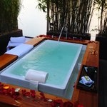 Bathing Ritual at the spa-- amazing!
