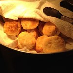 The fresh biscuits