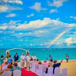 the rainbow that appeared on our wedding day..BEAUTIFUL