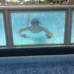 piscina do bar molhado