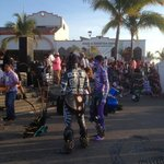 free folklore dance show at Los Arcos, south end of Malecon