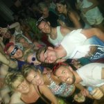 Partying away inside Space Ibiza