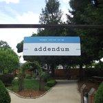 Entrance to Addendum