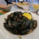 Mussels, an appetizer