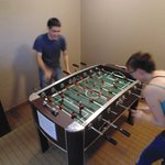 Complimentary Foosball & Ping Pong