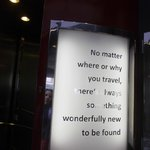 Amei esse hotel ao ler essa mensagem na chegada!