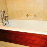 Very large soaking tub