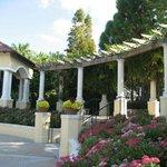 Hollis Garden Scene.