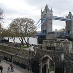View from the Tower of London