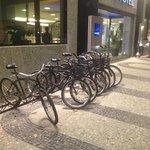 Bikes para uso dos Hospedes