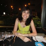 Jantar no restaurante do hotel