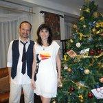 Natal de 2013 - no lobby do hotel