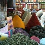 Boutique épices et herboristerie près du Riad