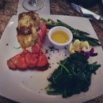 My lobster dinner! Delicious!