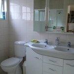 Bathroom w/ a double sink!