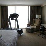 Fitness bedroom