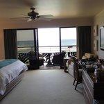 Ocean front duluxe room