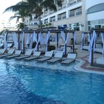 Plenty of Daybeds & lounges around the pool