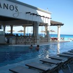 One of the Pool Restaurants with swim up bar