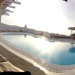 Pool from the sun bed