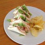 Yummy Chicken sandwich at The Blarney Irish BaR, La Cala de Mijas