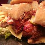 Burger at Winestone