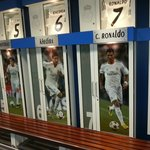 madrid changing room