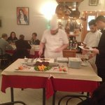 Chef in sala