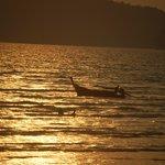 Playa Phra Nang - atardecer