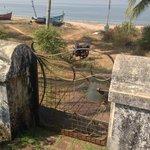 Rusty Gate to the beach