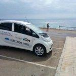 gratis door hotel terugbeschikking electrische auto Peugeot.